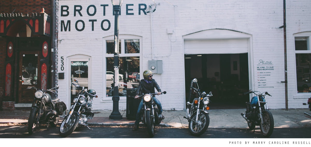 Brother Moto - East Atlanta motorcycle co op. Closed.