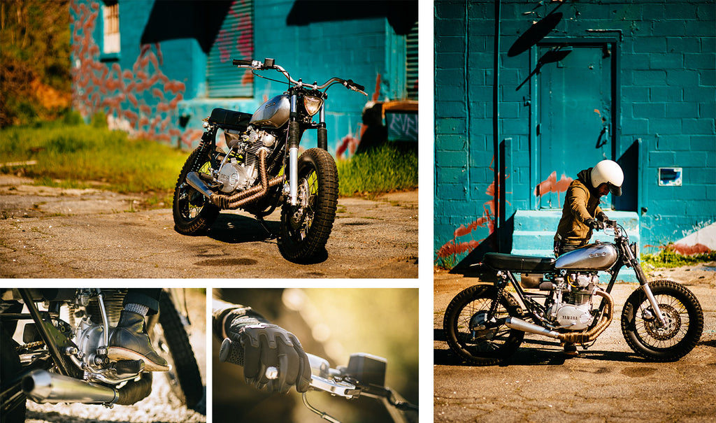 Brother moto xs650 caferacer giveaway