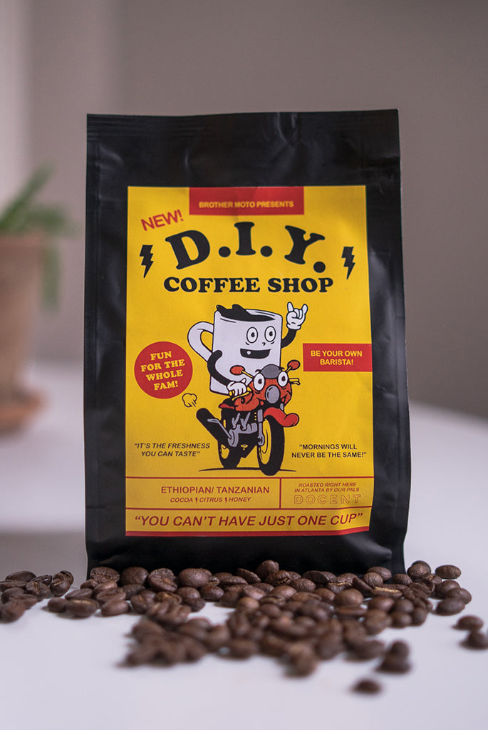The D.I.Y. Coffee shop