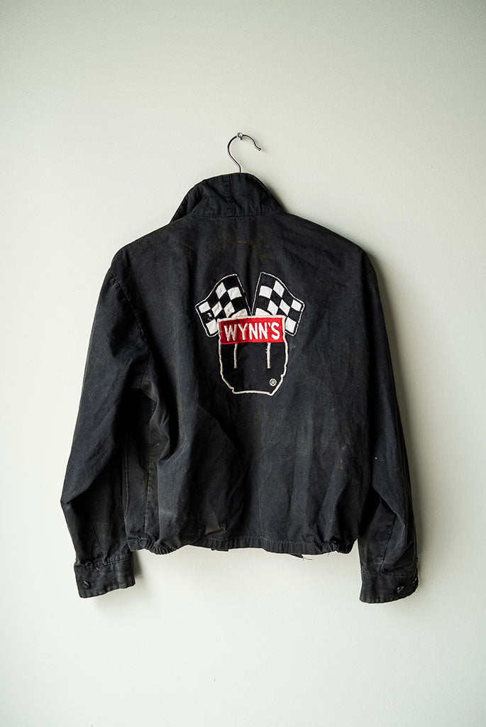 Vintage Wynn's work jacket - Black