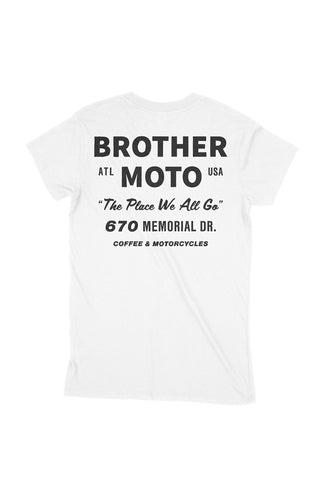 Brother Moto classic tee - the place we all go