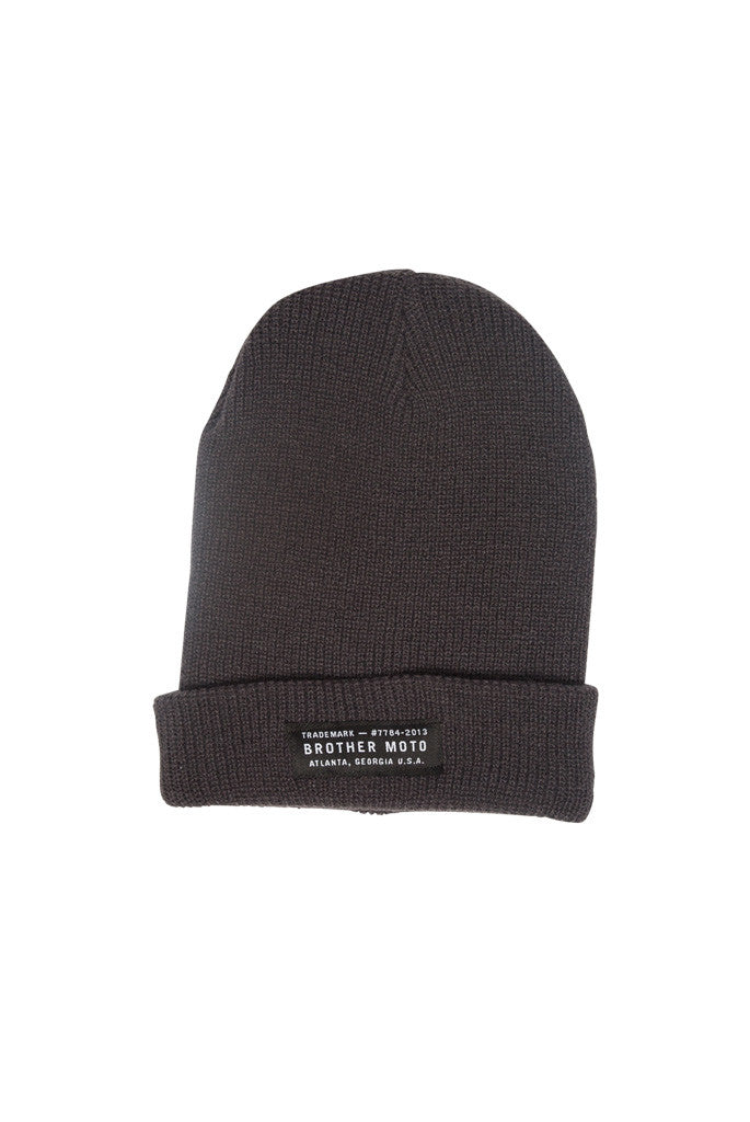 Heritage Beanie - Grey - Motorcycle lifestyle goods Brother Moto - 1