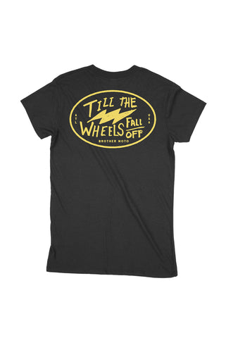 Love you till the wheels fall off tshirt motorcycle tee