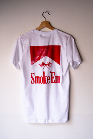 Smoke 'em emblem - Brother Moto X Coral Monday collaboration