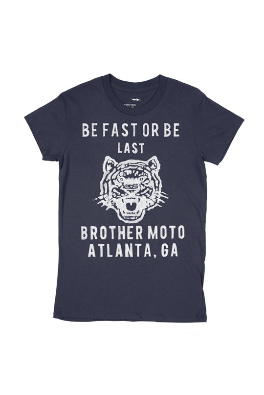 Be Fast Tee - Navy