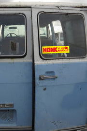 Honk if you love motorcycles - Bumper Sticker