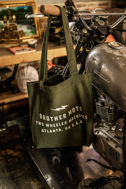 Carry all tote - green