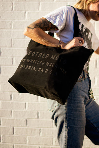Brother Moto Black Tote bag