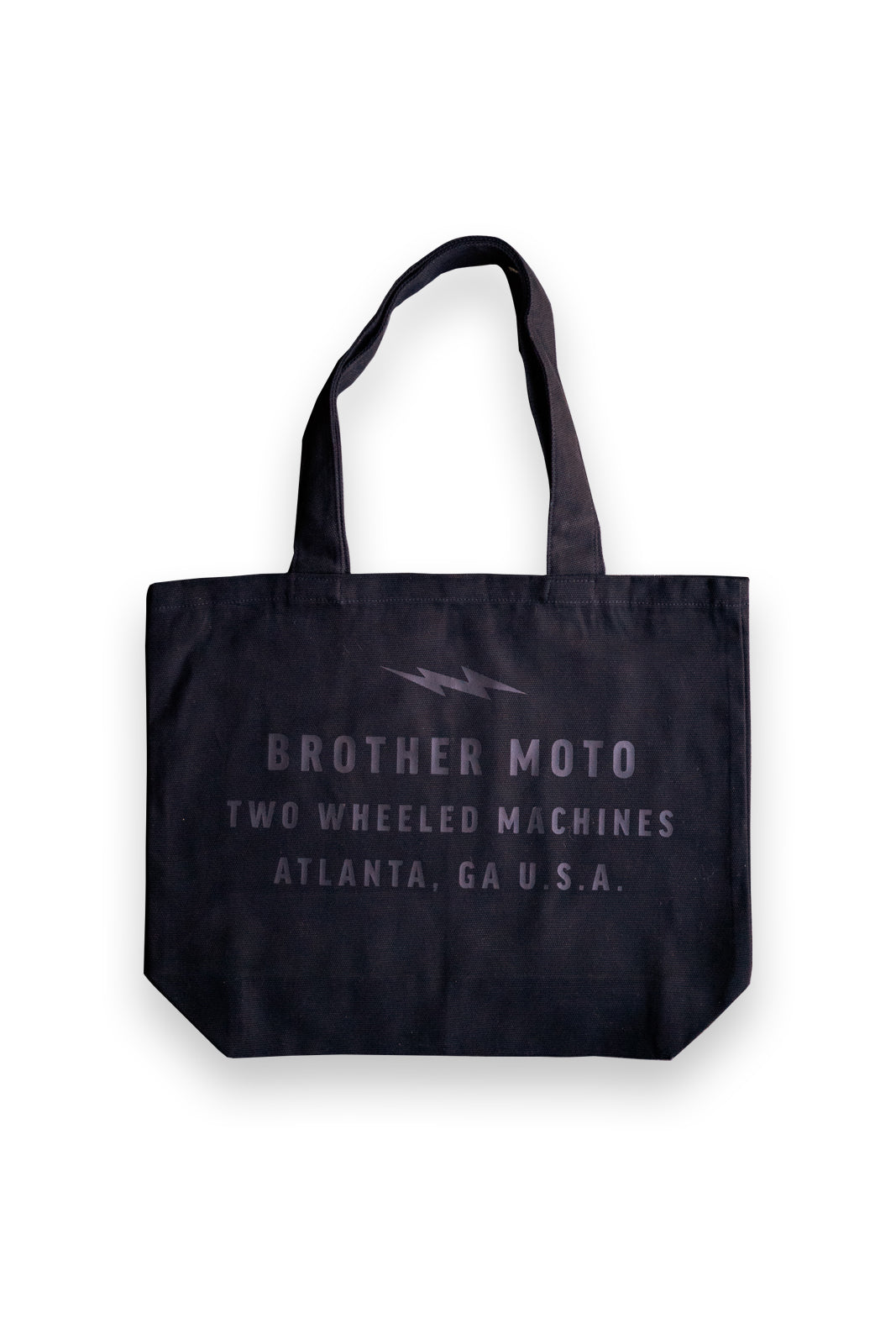 Two Wheeled Machines Tote - BLK