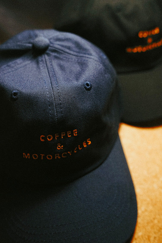 Coffee and motorcycles - dad hat