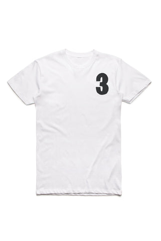Brother Moto number 3 three tee shirt