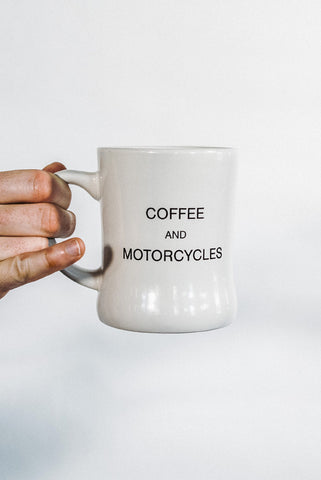 Coffee and Motorcycles diner Mug
