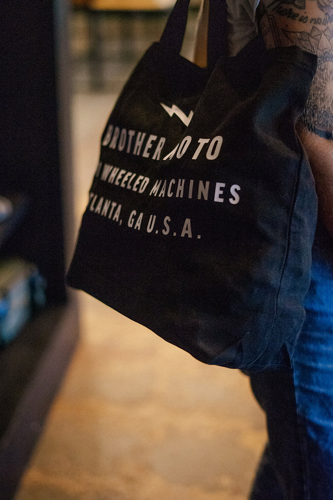 Brother Moto Tote bag