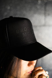 Stans Black Trucker Hat - Limited Edition
