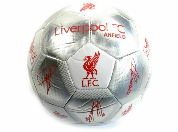 Liverpool Silver and White Signature Ball