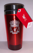 Load image into Gallery viewer, Liverpool Red Travel Mug