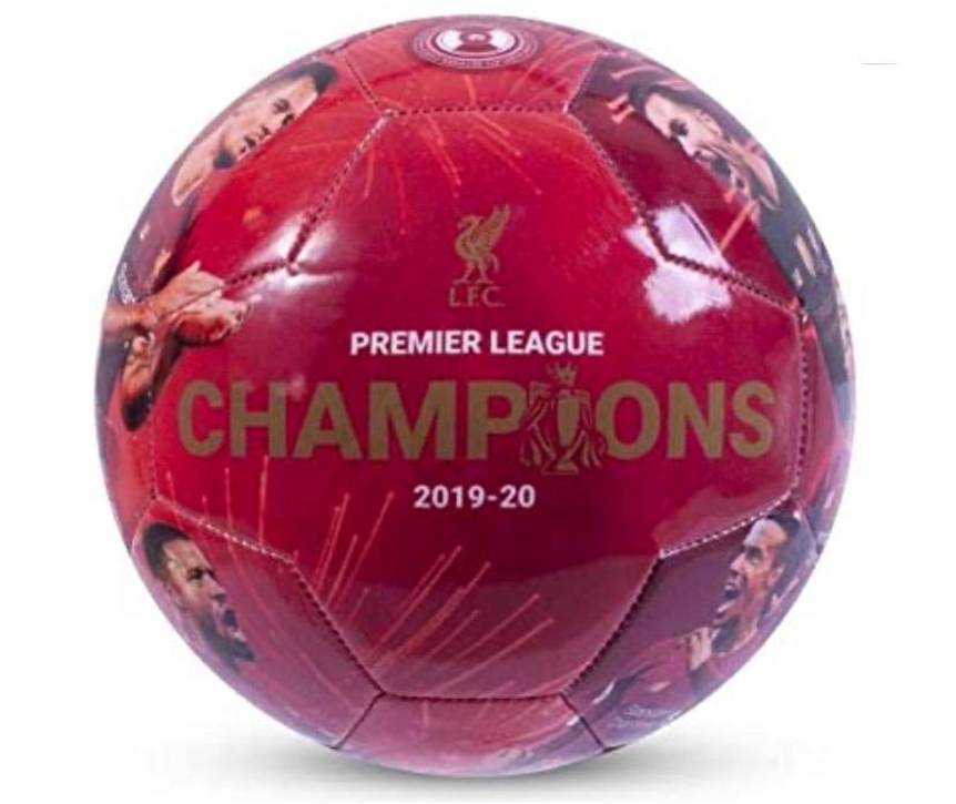 Liverpool Champions Player Picture Ball
