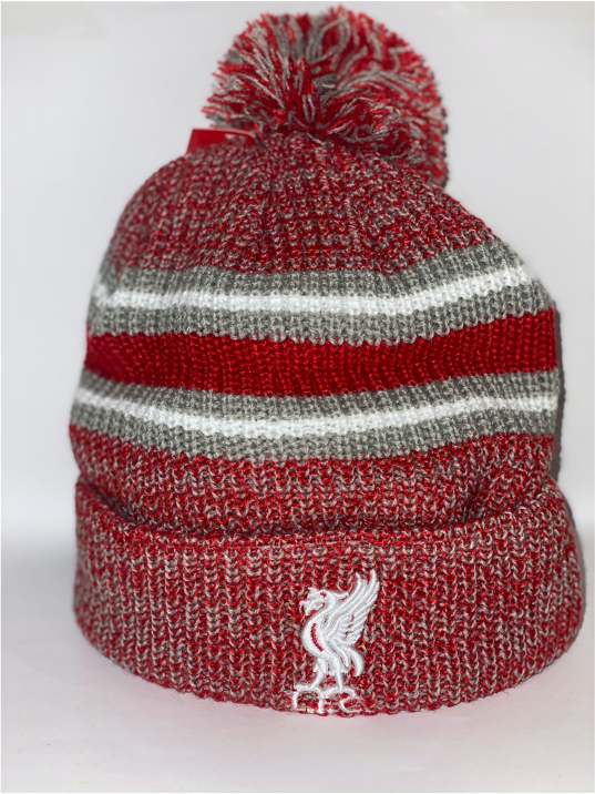 Liverpool Red Pom Beanie
