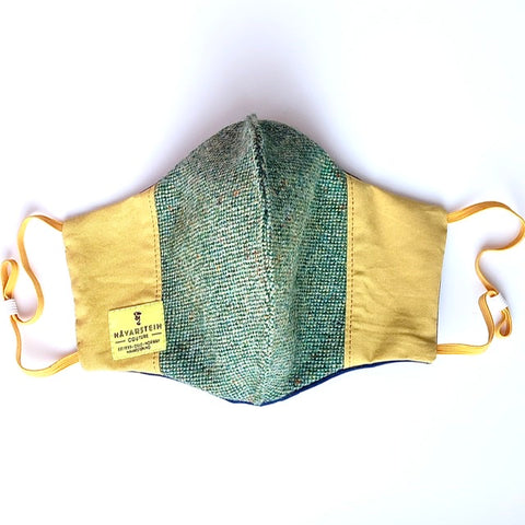 Eco friendly reversible face mask (4-layers) donegal GENT