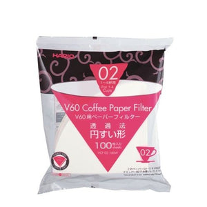 HARIO FILTERS 02 WHITE