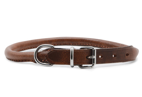 Ancol Vintage Round Leather Collar