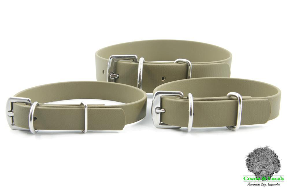 BioThane Webbing Dog Collars
