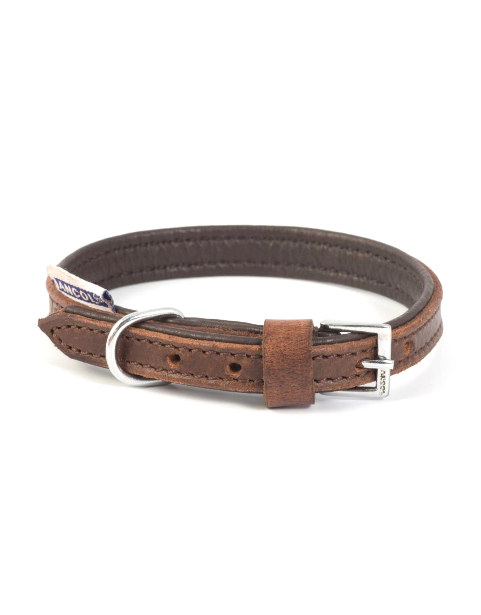 Ancol Vintage Padded Leather Collar