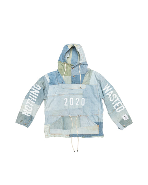 DENIM ANORAK NOTHING WASTED
