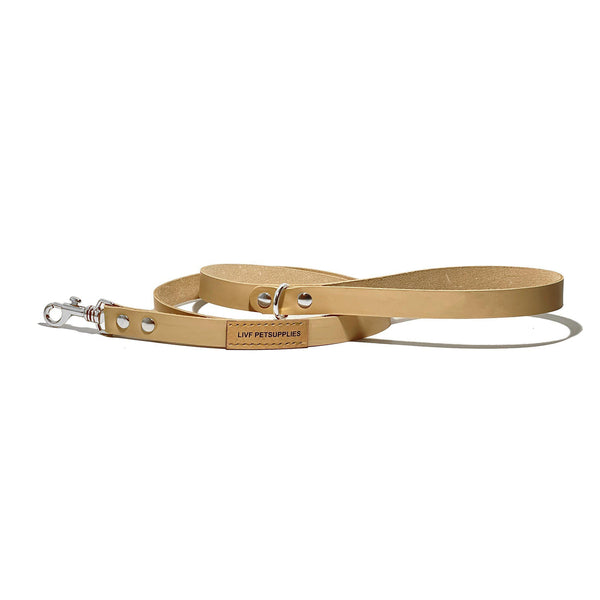 Basco City Leash - Nude-LIVF - Pet Supplies