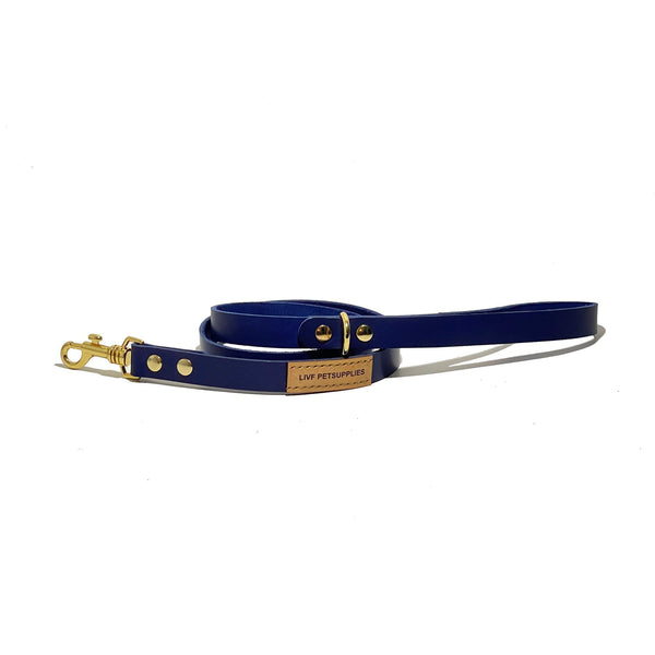 Basco City Leash - Royal Blue-LIVF - Pet Supplies
