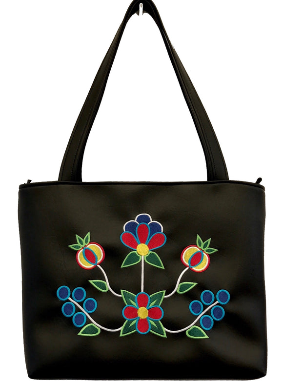 Zaagiibagaa Shoulder Tote in 'Original Colours'