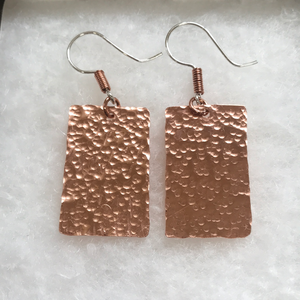 Texturized Copper Rectangles 3