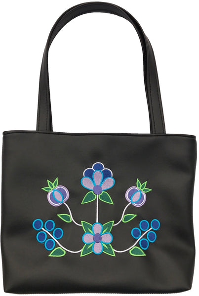 Zaagiibagaa Shoulder Tote In 'The Blues'