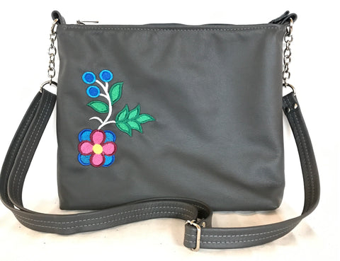 Charcoal Grey Cross Body Purse