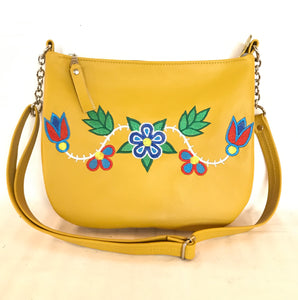 Deep Yellow Cross Body