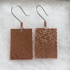 Texturized Copper Rectangles