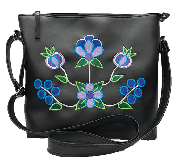 Zaagiibagaaa Cross Body in The Blues