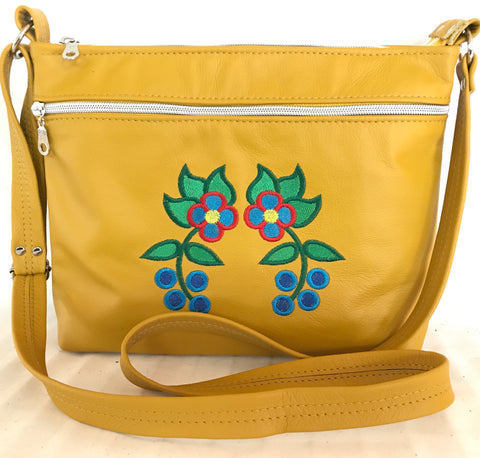 Mustard Yellow Cross Body Purse