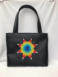 Ahnung Shoulder Tote in Rainbow