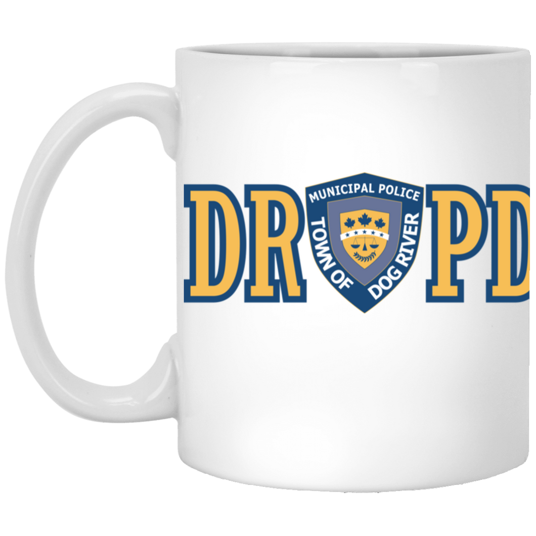 Dog River Police Department White Mug