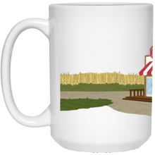 Load image into Gallery viewer, The Ruby Landscape White Mug