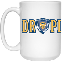 Load image into Gallery viewer, Dog River Police Department White Mug