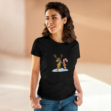 Load image into Gallery viewer, Women's Corner Gas Cool Reindeer T-Shirt