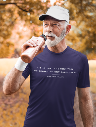 Edmund Hillary Quote T-Shirt