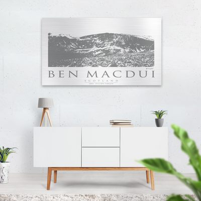 Ben Mac Dui wall art graphic image-gift