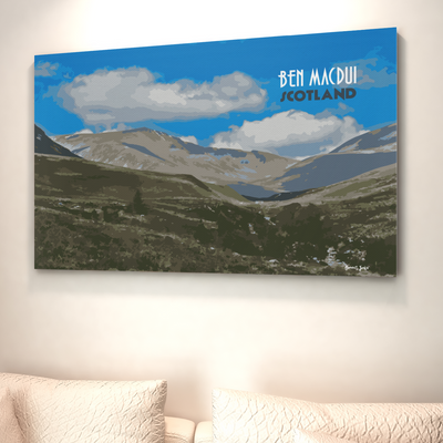 Ben MacDui canvas print | Wall Art | Gift for Mountaineers
