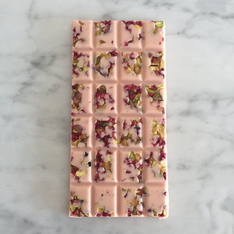 Vegan Pink Pistachio & Raspberry Bar