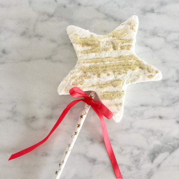 Christmas Sparkly Star Lolly