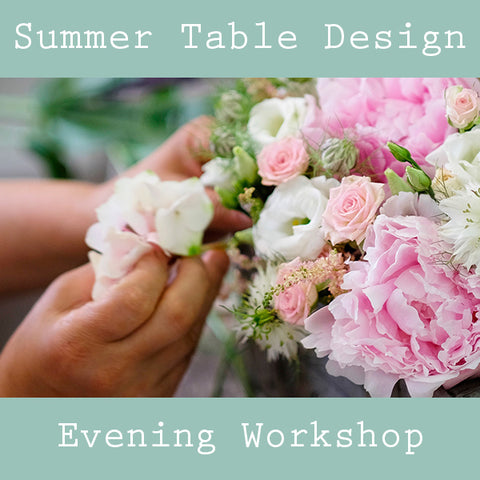Summer Table Design