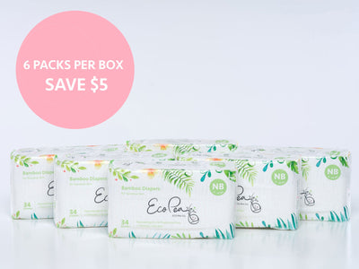 Box of Diapers - Eco Pea Co.